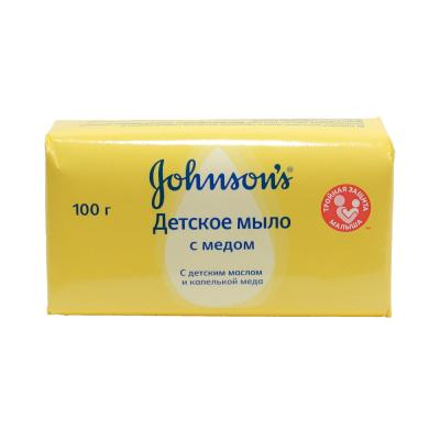 Мыло Джонсонс 100г Детское