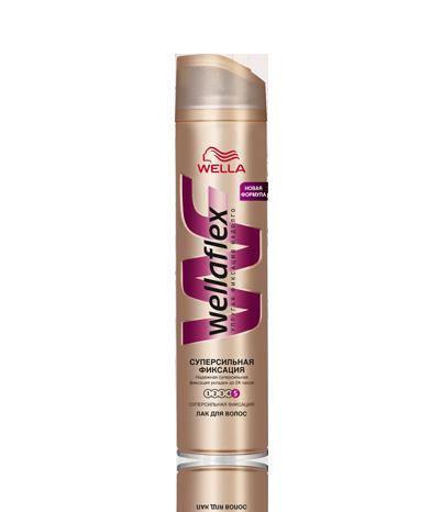 Лак для волос  Wella Wellaflex 250мл.